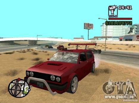 Tun complects pour GTA San Andreas troisième écran