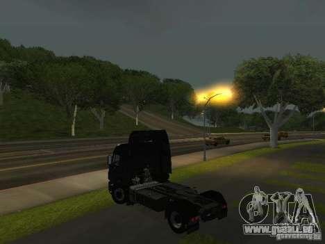 KAMAZ 1840 v2.0 pour GTA San Andreas laissé vue