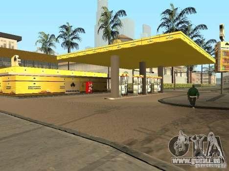 Neue Texturen-Tankstellen für GTA San Andreas