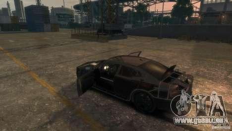 Dodge Charger Fast Five pour GTA 4 est un côté