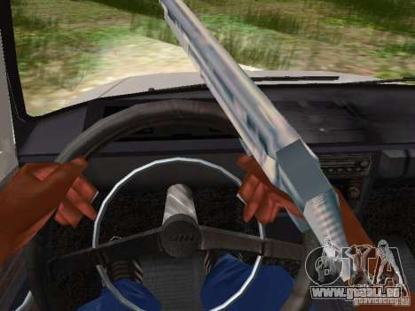 AZLK-412 pour GTA San Andreas vue intérieure