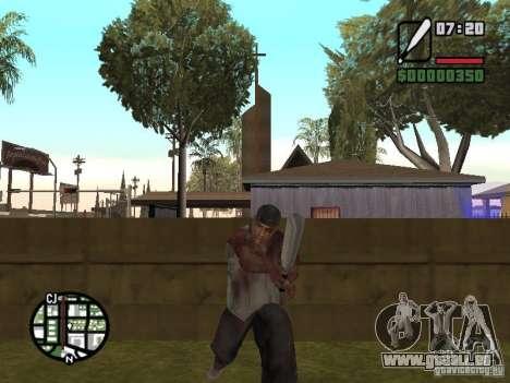Markus young pour GTA San Andreas dixième écran