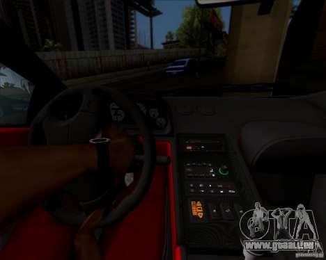 Lamborghini Diablo SV V1.0 für GTA San Andreas obere Ansicht