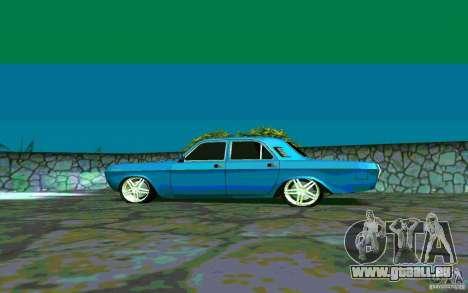 GAZ 24 v 1.0 pour GTA San Andreas vue arrière