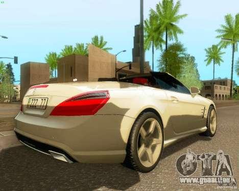 Mercedes-Benz SL350 2013 pour GTA San Andreas vue de droite