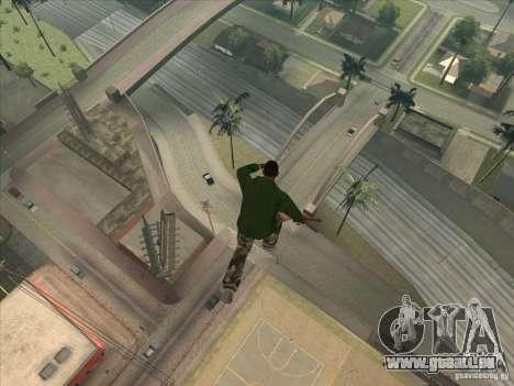 Sauter le Jet pack pour GTA San Andreas