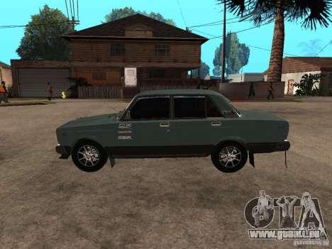 ВАЗ 21074 für GTA San Andreas zurück linke Ansicht