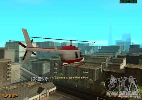 New Maverick pour GTA San Andreas laissé vue