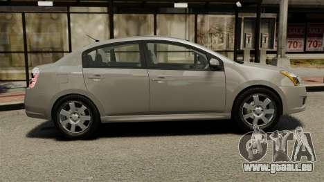 Nissan Sentra S 2008 pour GTA 4 est une gauche