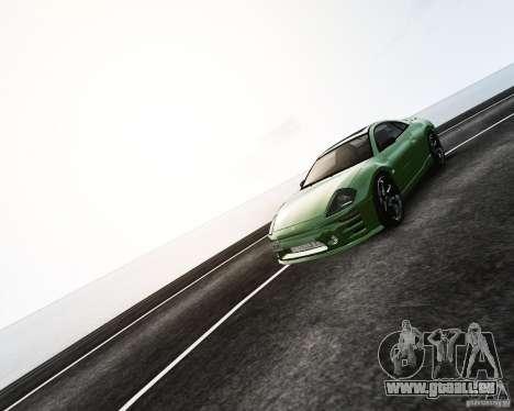 Mitsubishi Eclipse GT-S pour GTA 4 vue de dessus