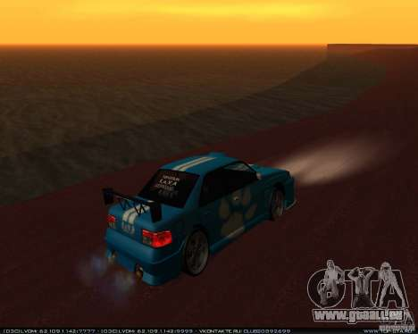 Neue Vinyle Sultan für GTA San Andreas rechten Ansicht