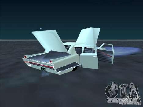 Cadillac Stella für GTA San Andreas Rückansicht