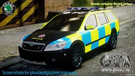 Skoda Octavia Scout Essex [ELS] pour GTA 4