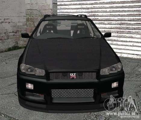 Nissan Stagea pour GTA San Andreas laissé vue