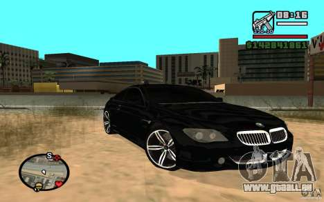 BMW M6 2006 für GTA San Andreas