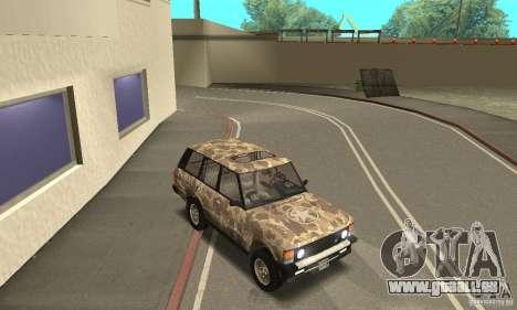 Range Rover County Classic 1990 für GTA San Andreas Motor