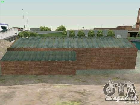 Nouveau garage de Doherty pour GTA San Andreas sixième écran