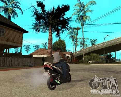 Honda Click für GTA San Andreas zurück linke Ansicht