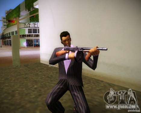 Thompson Model 1928 für GTA Vice City Screenshot her