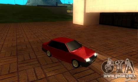PROTOCOLE DE VAZ 21099 pour GTA San Andreas vue intérieure