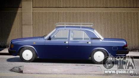 GAZ 3110 Wolga für GTA 4 Innenansicht