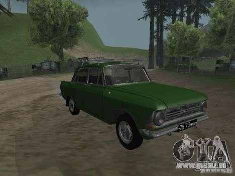 IZH 412 v3.0 pour GTA San Andreas