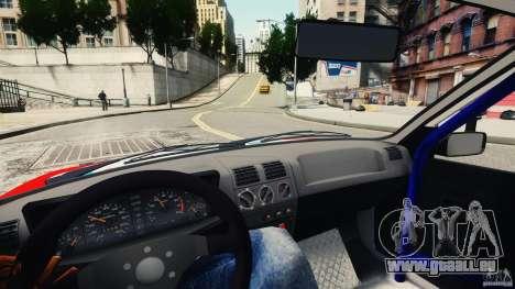 Peugeot 205 Rally pour GTA 4 Vue arrière
