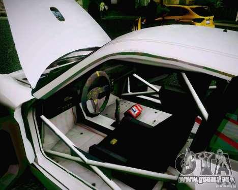 Porsche 911 GT3 pour GTA San Andreas vue de dessus