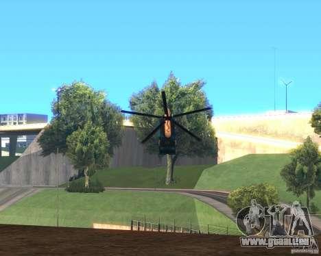Cops Hoddogeres für GTA San Andreas zurück linke Ansicht