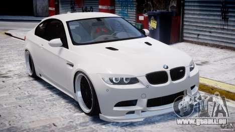BMW M3 Hamann E92 für GTA 4 Unteransicht