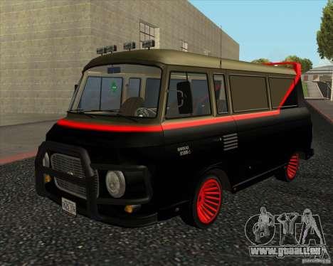1961-1991 Barkas B1000 pour GTA San Andreas laissé vue