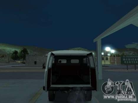 UAZ 451A pour GTA San Andreas vue arrière