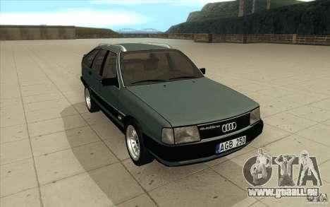 Audi 100 Avant Quattro für GTA San Andreas Rückansicht