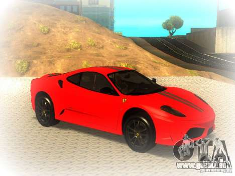 Ferrari 430 Scuderia TT Black Revel pour GTA San Andreas vue de droite