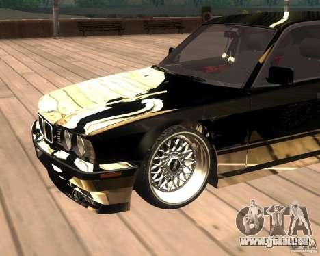 BMW M5 E34 Street pour GTA San Andreas vue de droite
