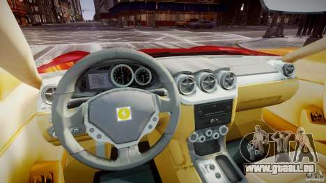 Ferrari 612 Scaglietti custom pour GTA 4 est un droit