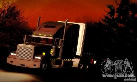 Freightliner Classic XL für GTA San Andreas obere Ansicht