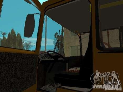 RAINURE 32054 pour GTA San Andreas vue de droite