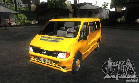 Mercedes Vito für GTA San Andreas