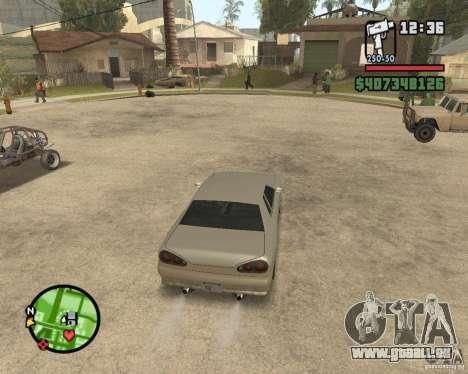 Radar zoom pour GTA San Andreas