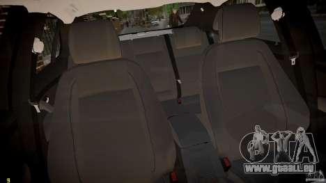 Saab 9-3 Aero X FINAL für GTA 4 Innenansicht