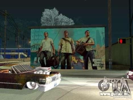 Poster de GTA V pour GTA San Andreas deuxième écran
