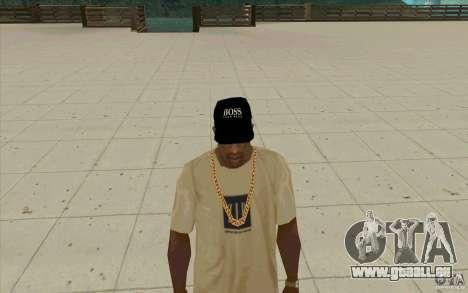 Boss Black cap für GTA San Andreas