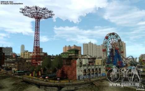 Menü- und Boot-Bildschirme von Liberty City in G für GTA San Andreas her Screenshot