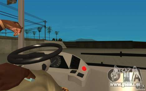 Laz-A183 Stadt Laz für GTA San Andreas Rückansicht