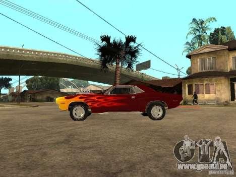 Dodge Challenger Tuning pour GTA San Andreas laissé vue