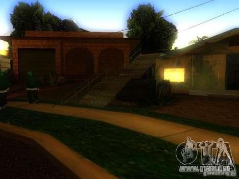 Basis der Grove Street für GTA San Andreas
