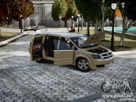 Dodge Grand Caravan SXT 2008 für GTA 4 linke Ansicht