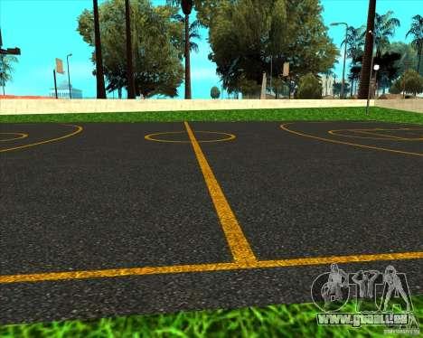 Basket-ball HQ pour GTA San Andreas troisième écran
