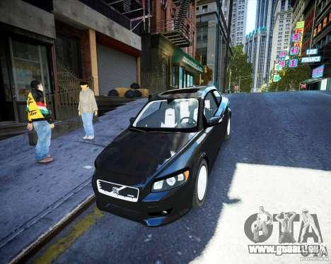 Volvo C30 2009 für GTA 4 Innenansicht